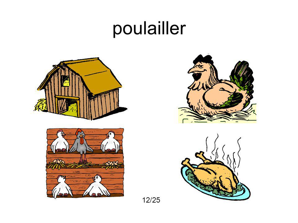 poulailler 12/25
