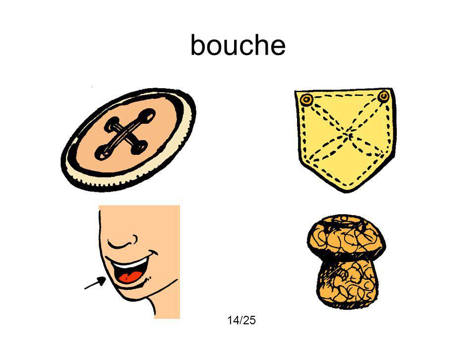 bouche 14/25