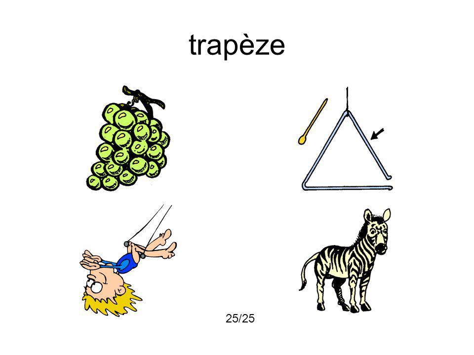 trapèze 25/25