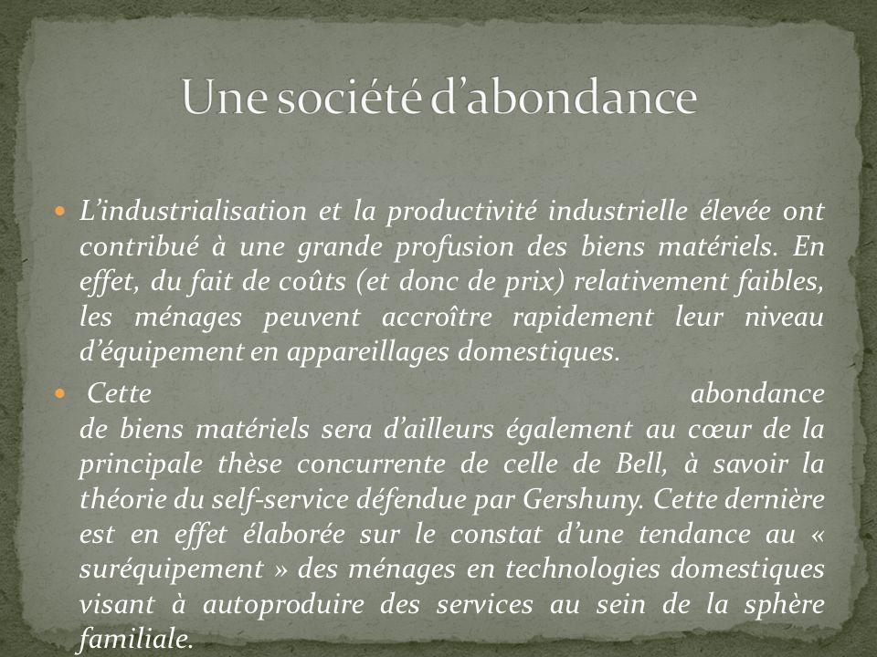 Une société d'abondance