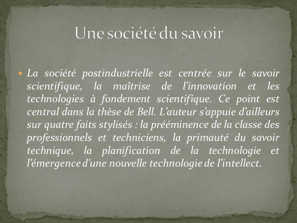 Une société du savoir