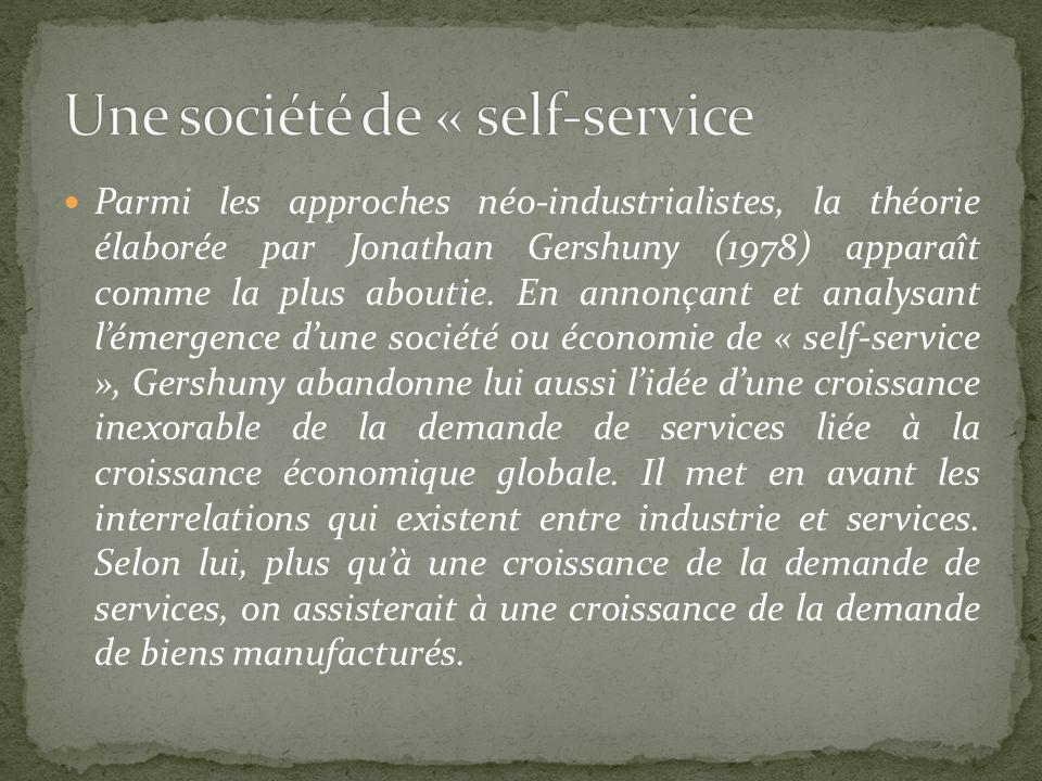 Une société de « self-service