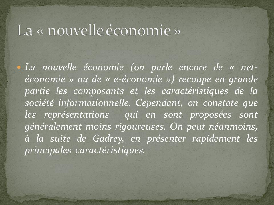 La « nouvelle économie »