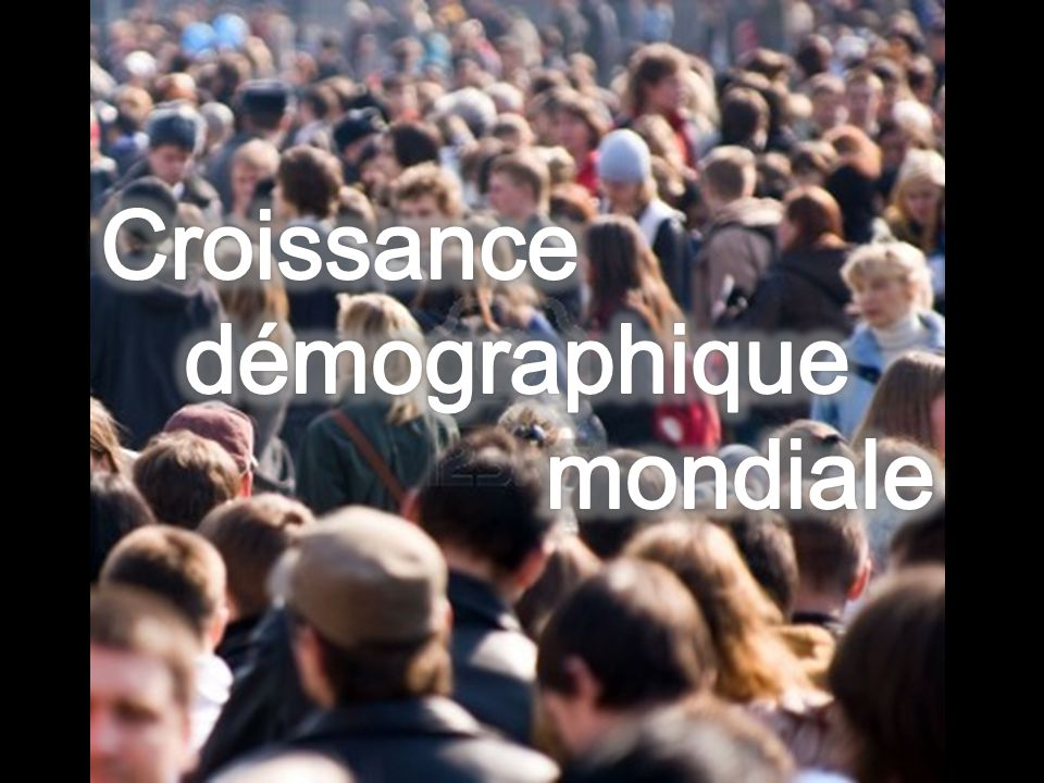 Croissance démographique mondiale