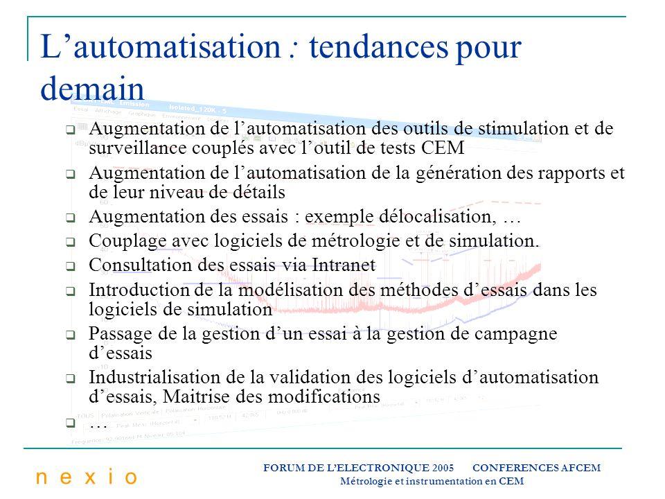 L'automatisation : tendances pour demain