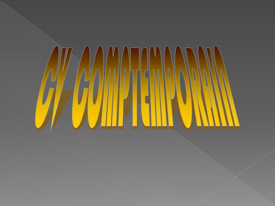 CV COMPTEMPORAIN