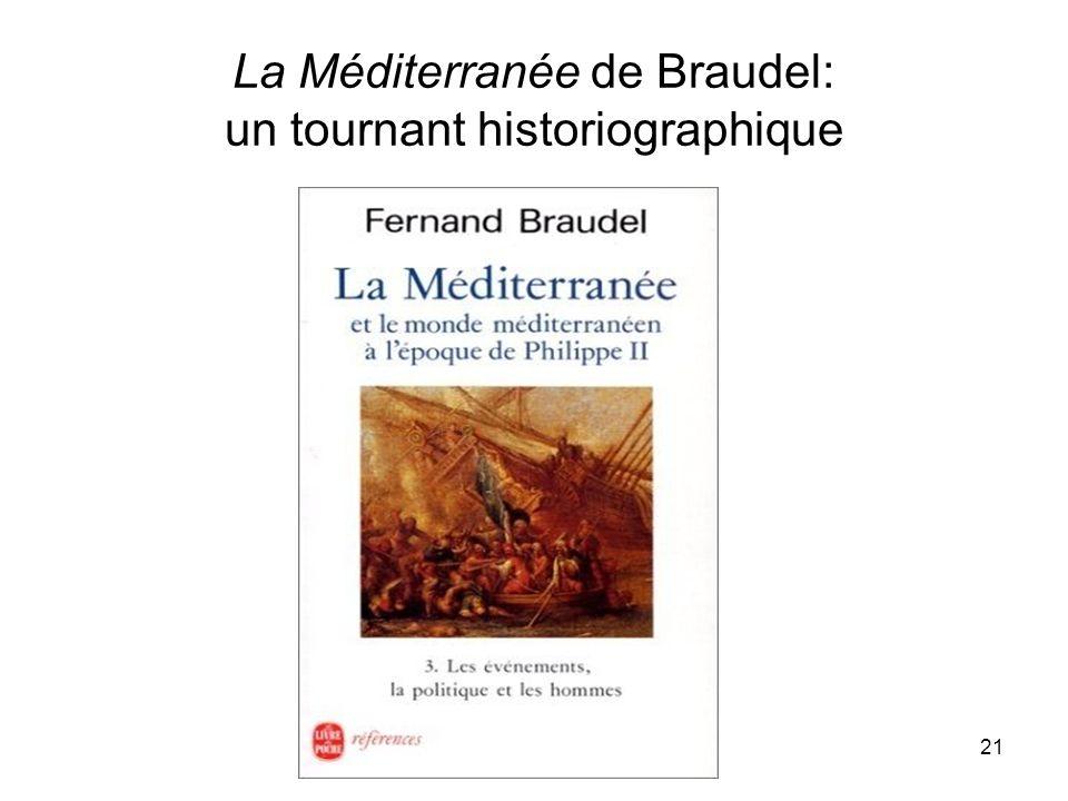 La Méditerranée de Braudel: un tournant historiographique