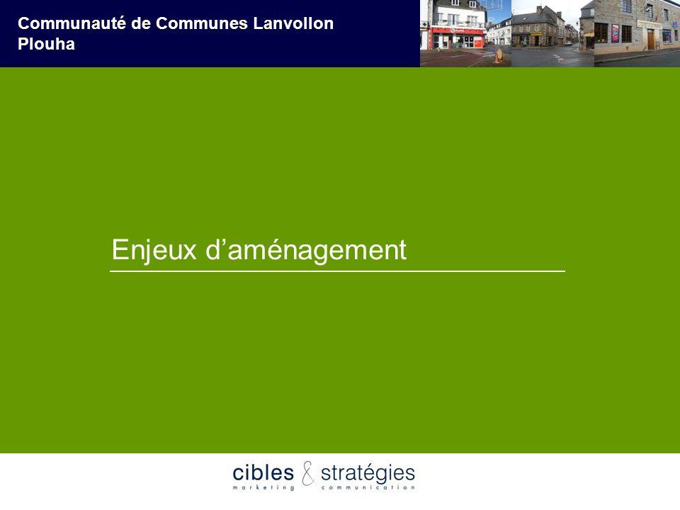 Enjeux d'aménagement Communauté de Communes Lanvollon Plouha Mai 2007