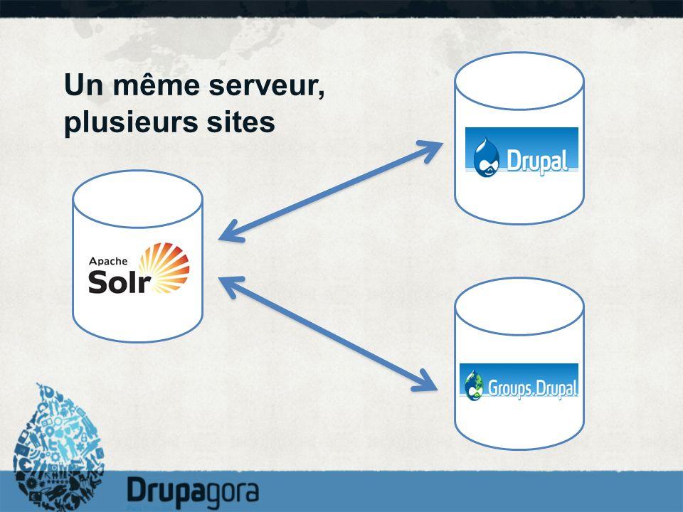 Un même serveur, plusieurs sites