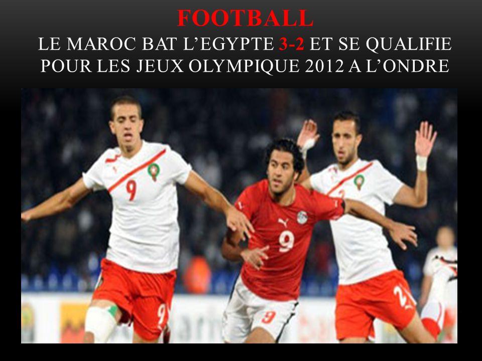 Football Le Maroc bat l'Egypte 3-2 et se qualifie pour les jeux olympique 2012 a l'ondre