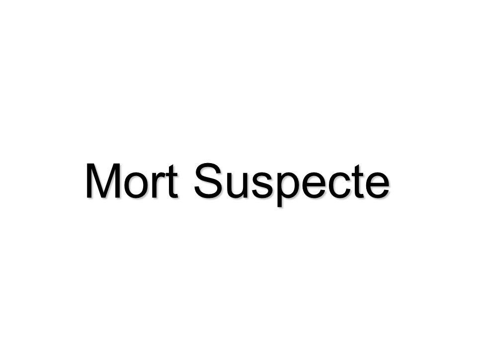 Mort Suspecte