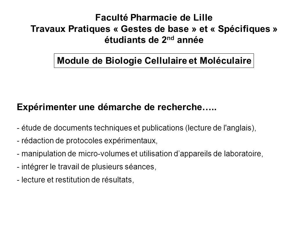 Faculté Pharmacie de Lille