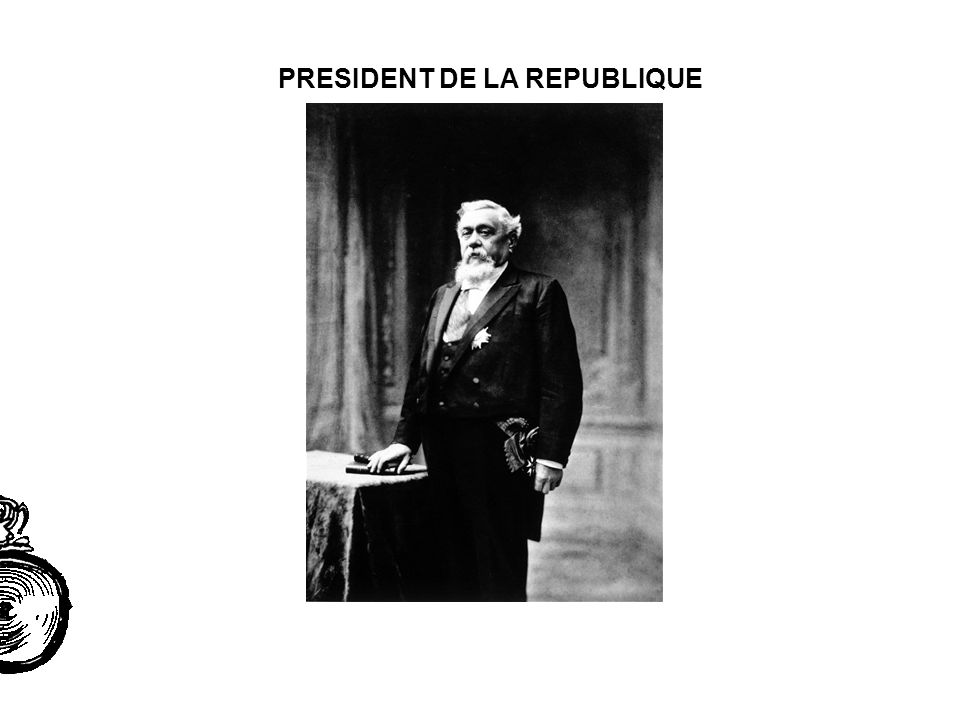 PRESIDENT DE LA REPUBLIQUE