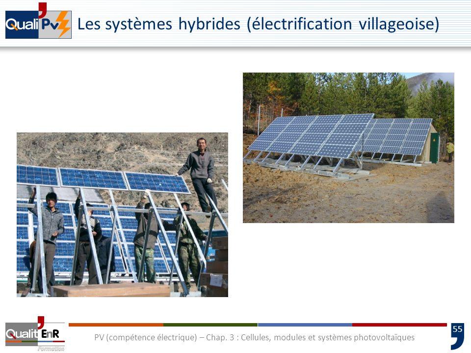 Les systèmes hybrides (électrification villageoise)