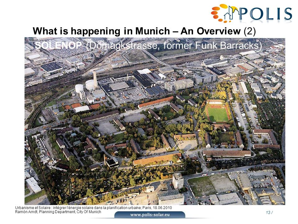 What is happening in Munich – An Overview (2)