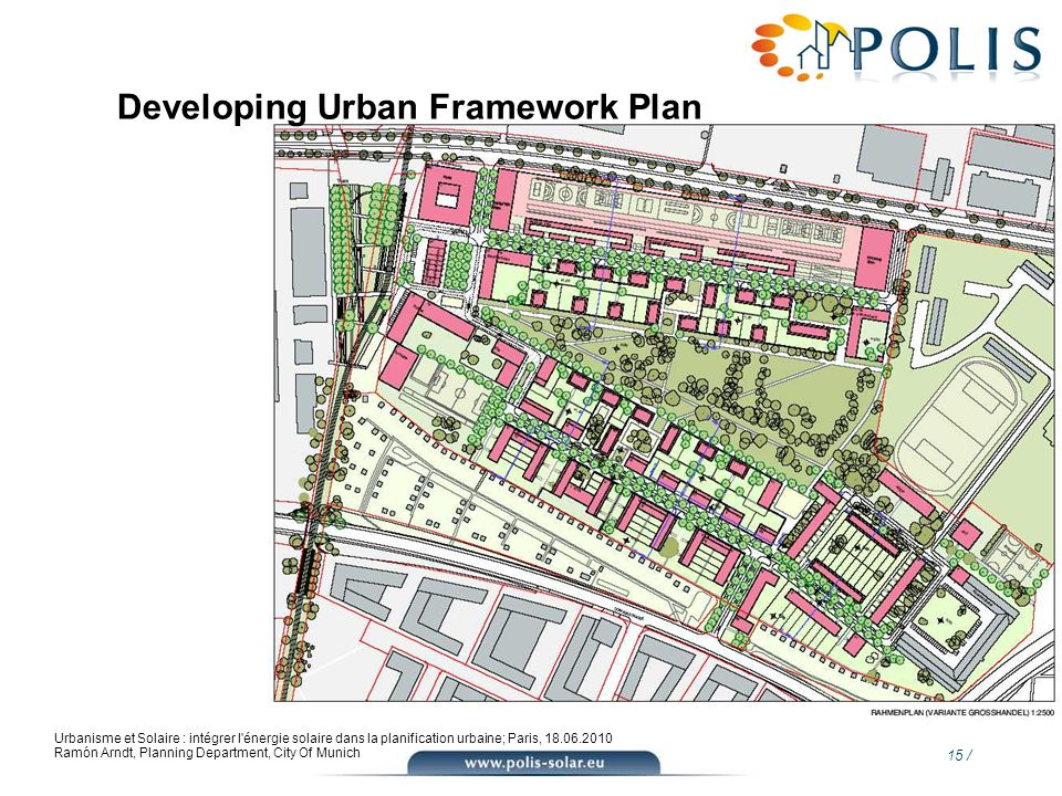 Developing Urban Framework Plan