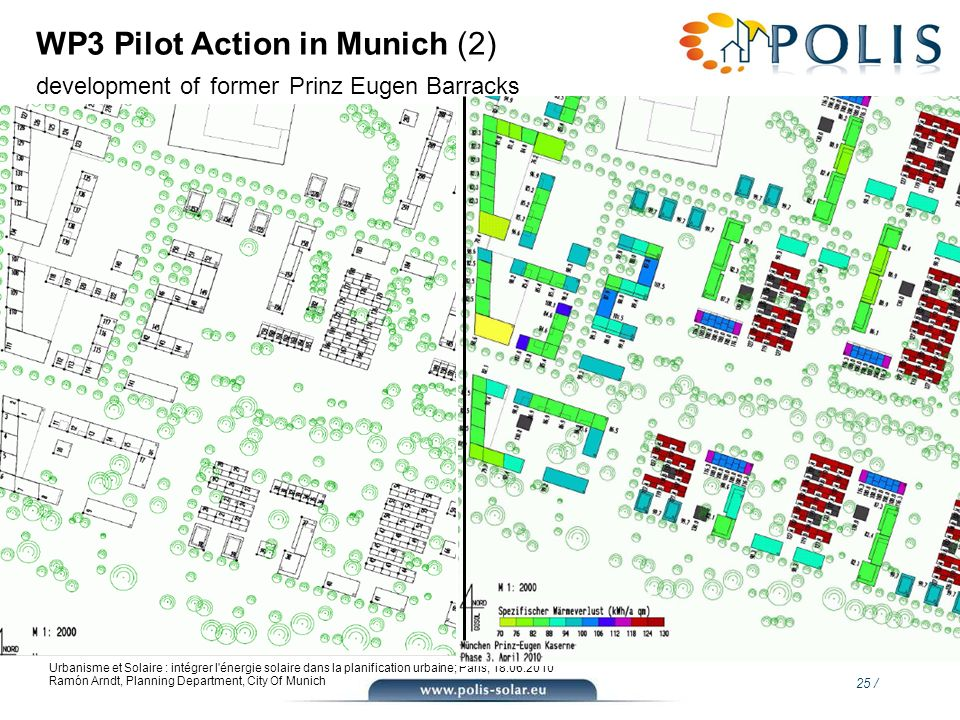 WP3 Pilot Action in Munich (2) development of former Prinz Eugen Barracks