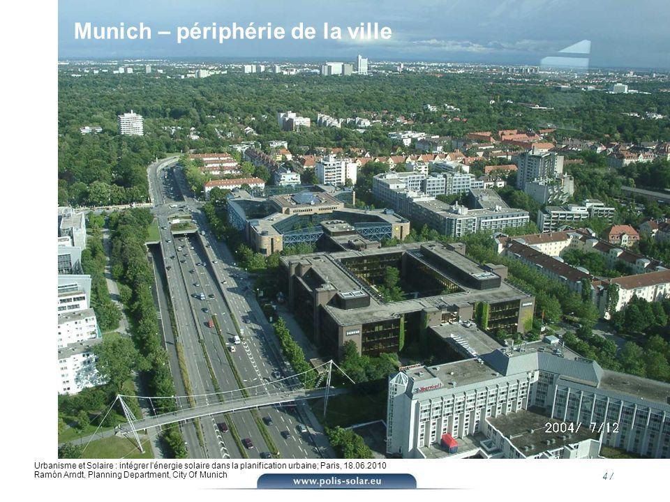 Munich – périphérie de la ville