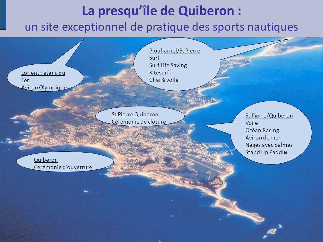 La presqu'île de Quiberon : un site exceptionnel de pratique des sports nautiques