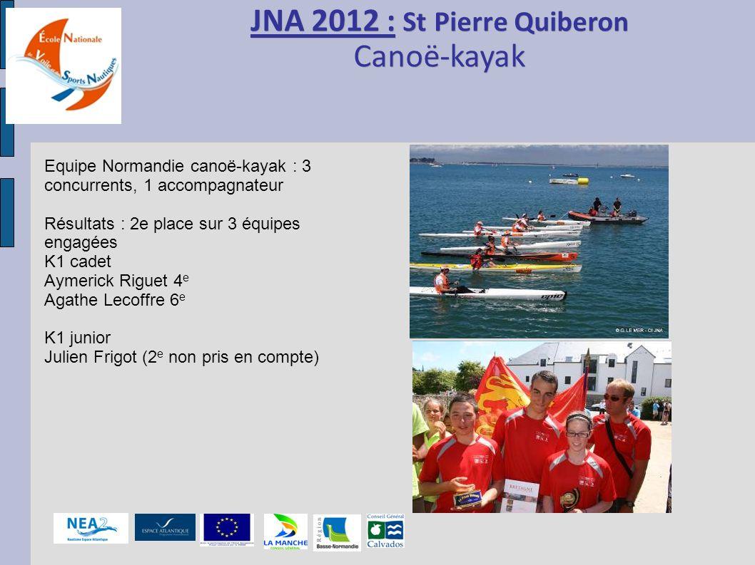 JNA 2012 : St Pierre Quiberon