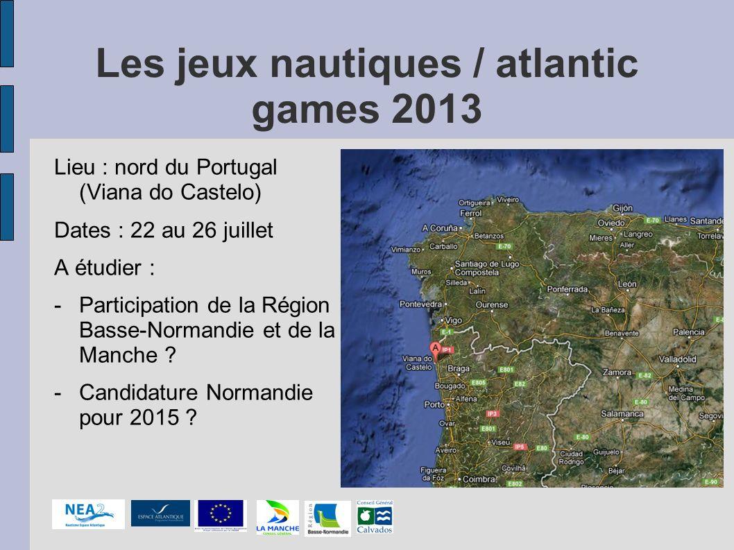 Les jeux nautiques / atlantic games 2013