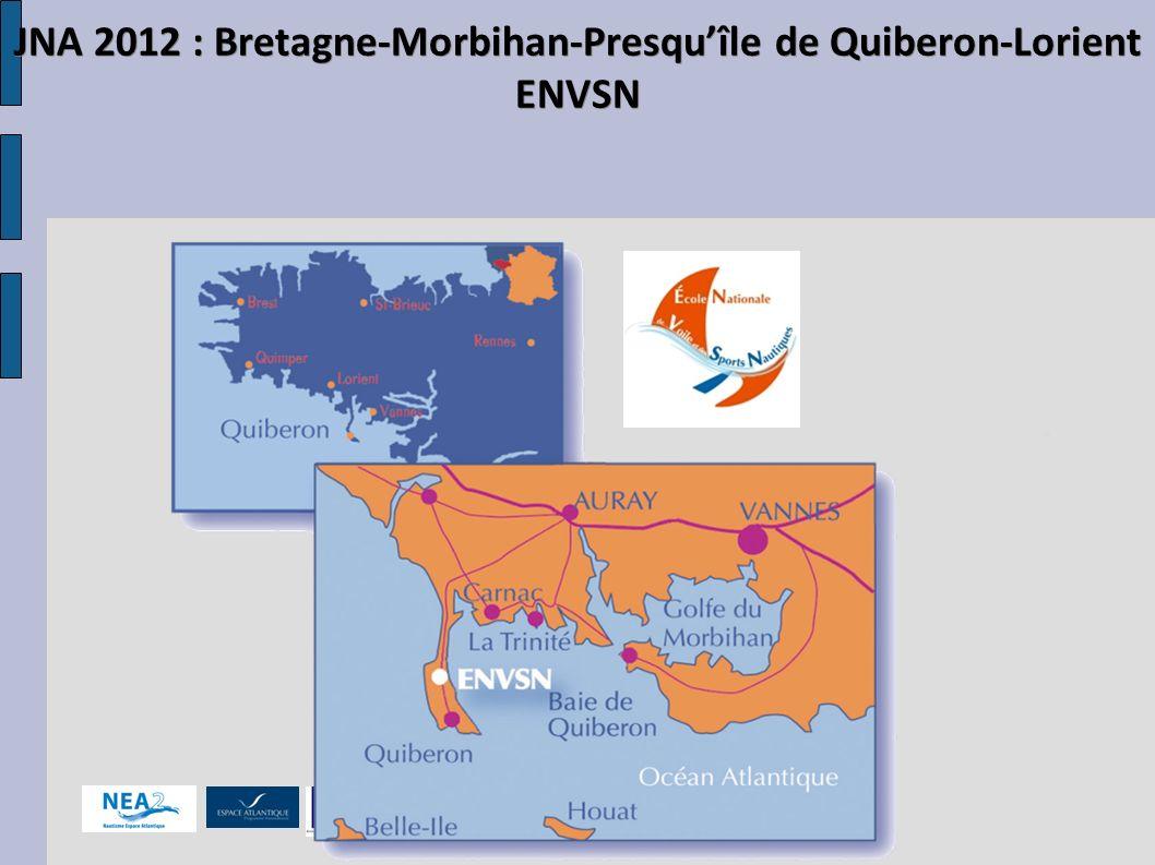 JNA 2012 : Bretagne-Morbihan-Presqu'île de Quiberon-Lorient ENVSN