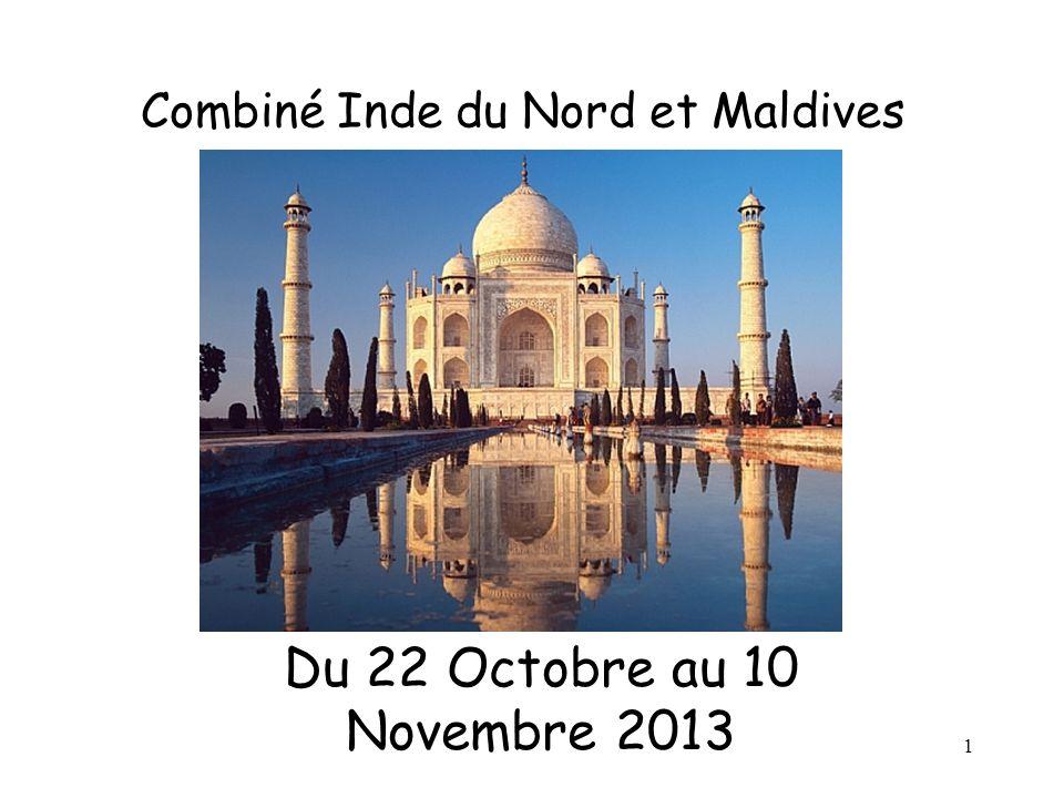 Combiné Inde du Nord et Maldives