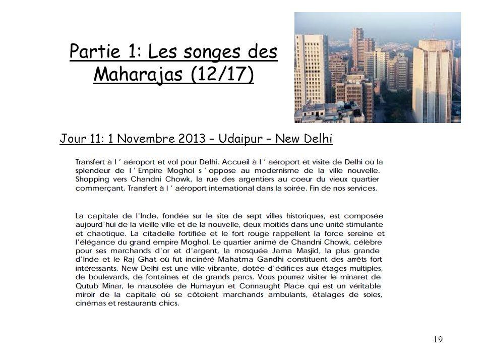 Partie 1: Les songes des Maharajas (12/17)