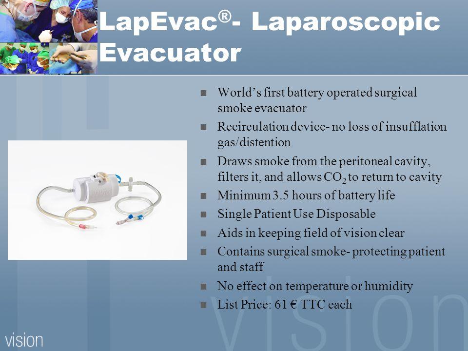 LapEvac®- Laparoscopic Evacuator