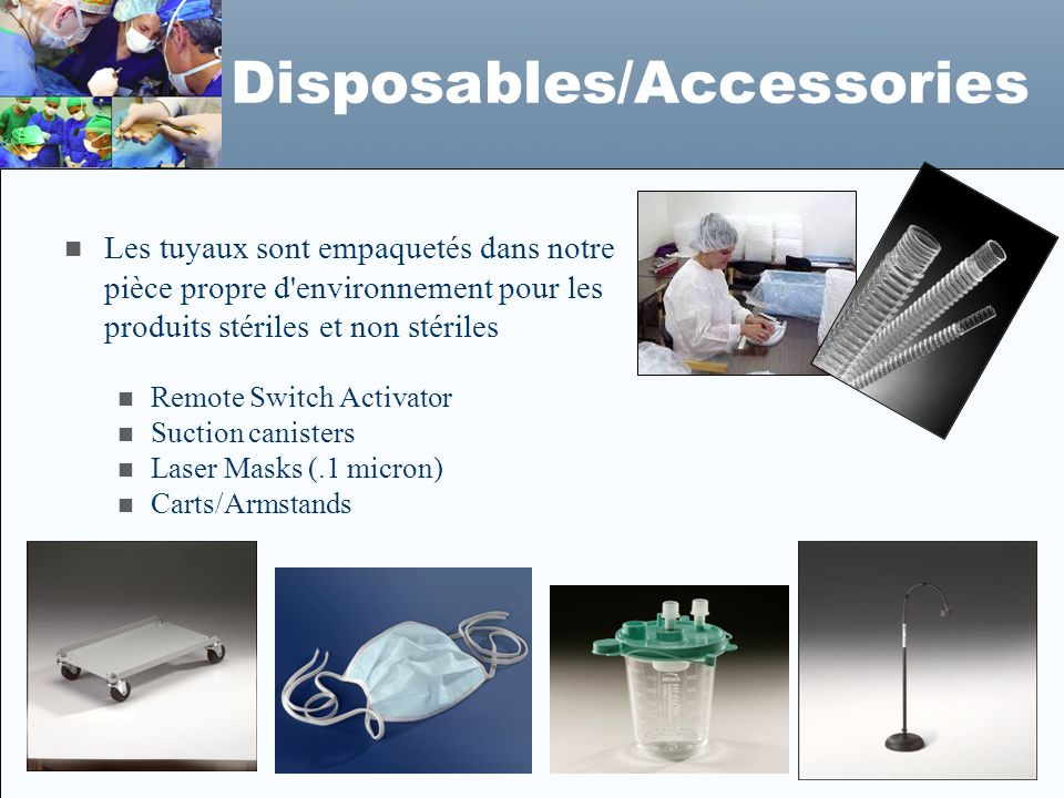 Disposables/Accessories