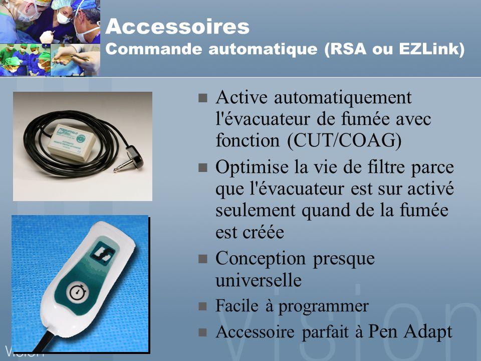 Accessoires Commande automatique (RSA ou EZLink)