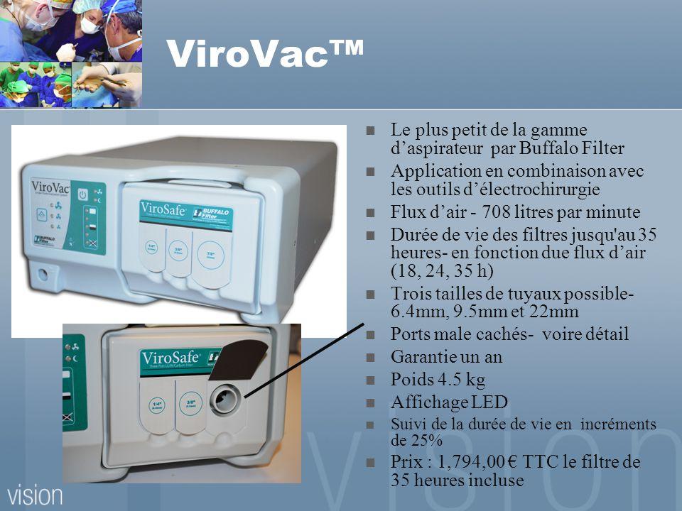 ViroVac™ Le plus petit de la gamme d'aspirateur par Buffalo Filter