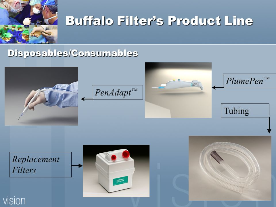 Buffalo Filter's Product Line