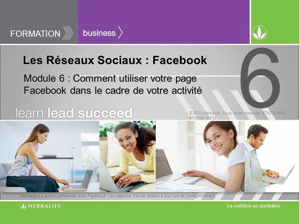 Les Réseaux Sociaux : Facebook