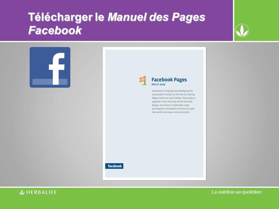 Télécharger le Manuel des Pages Facebook