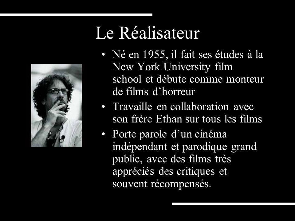 Le Réalisateur Né en 1955, il fait ses études à la New York University film school et débute comme monteur de films d'horreur.
