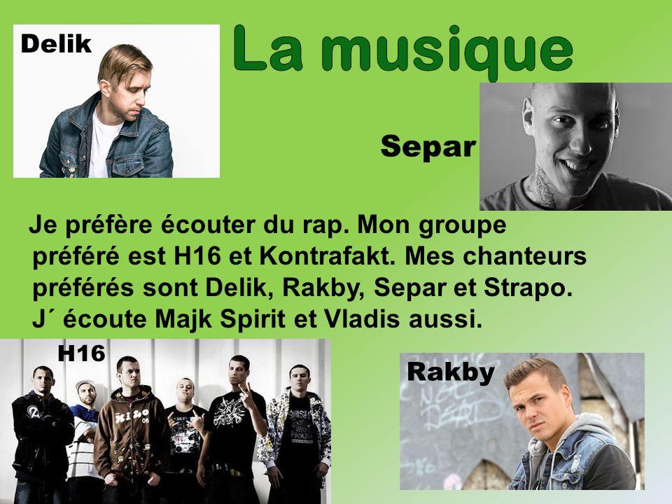 La musique Delik. Separ.