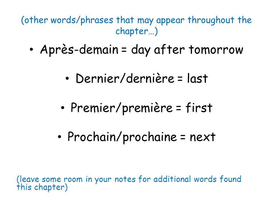 (other words/phrases that may appear throughout the chapter…)