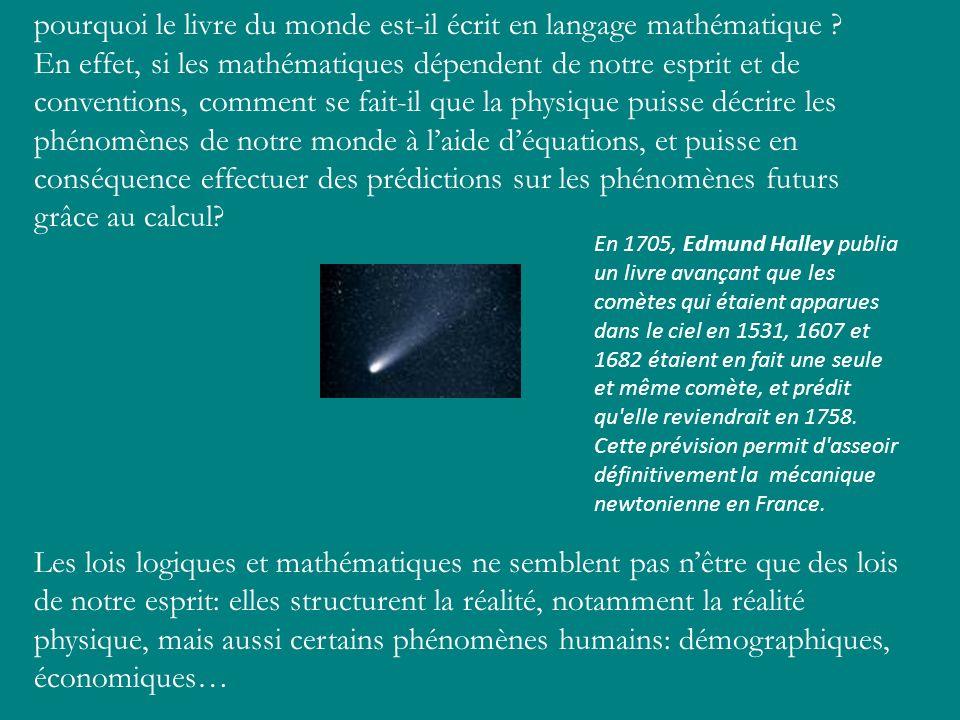 pourquoi le livre du monde est-il écrit en langage mathématique