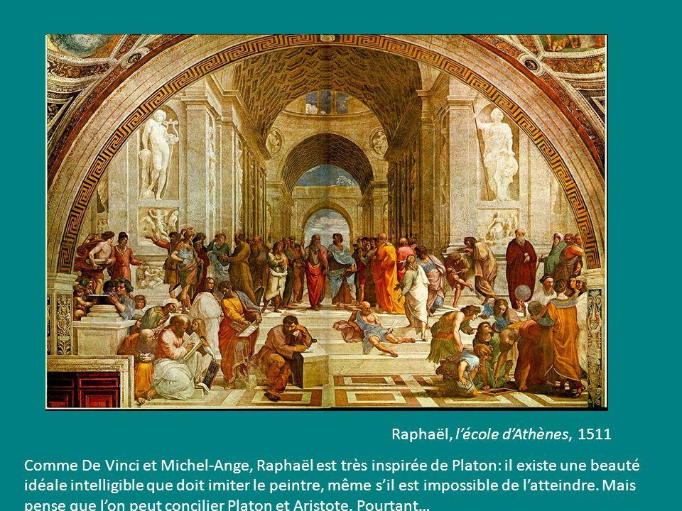 Raphaël, l'école d'Athènes, 1511
