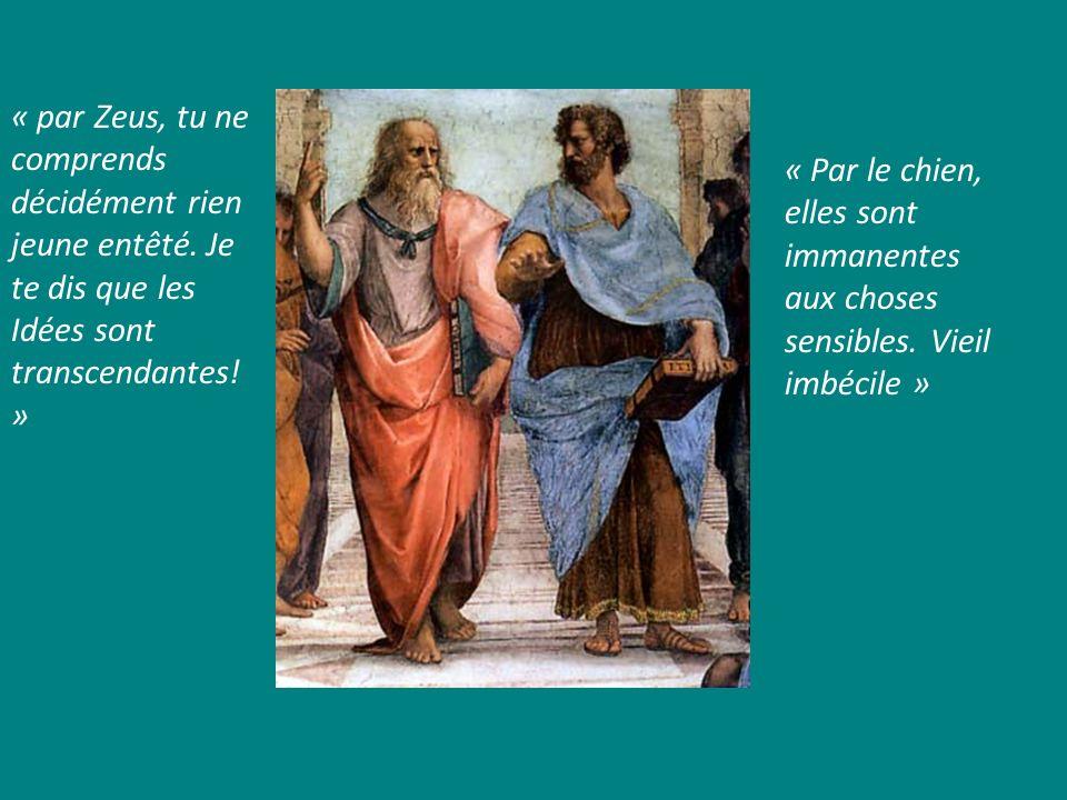 « par Zeus, tu ne comprends décidément rien jeune entêté