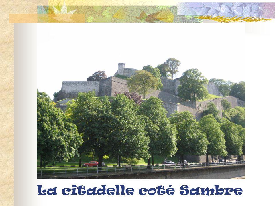 La citadelle coté Sambre