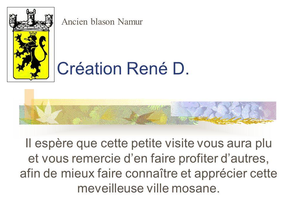 Ancien blason Namur Création René D.