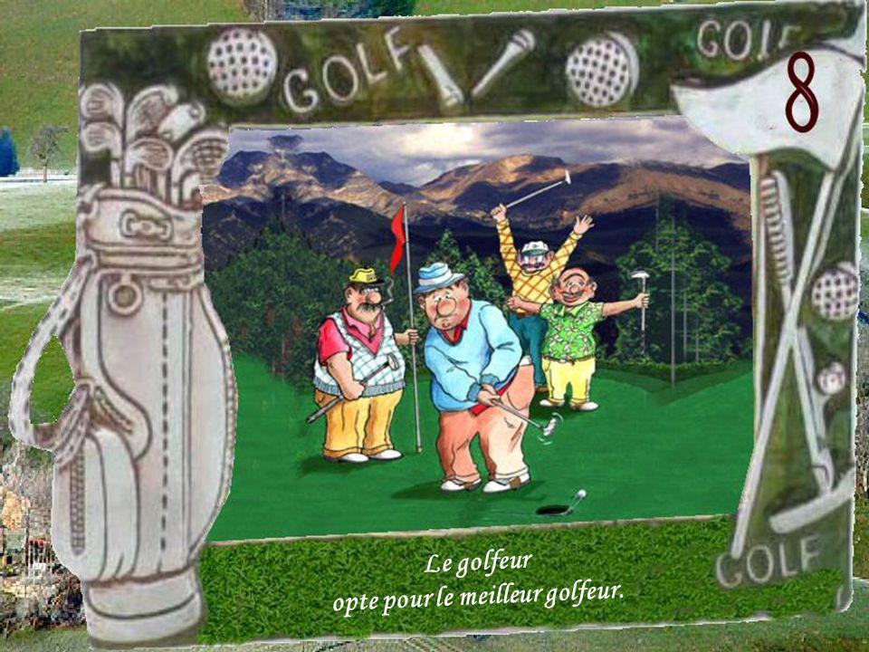 opte pour le meilleur golfeur.