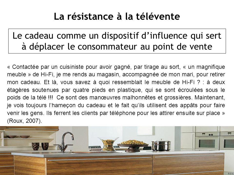La résistance à la télévente