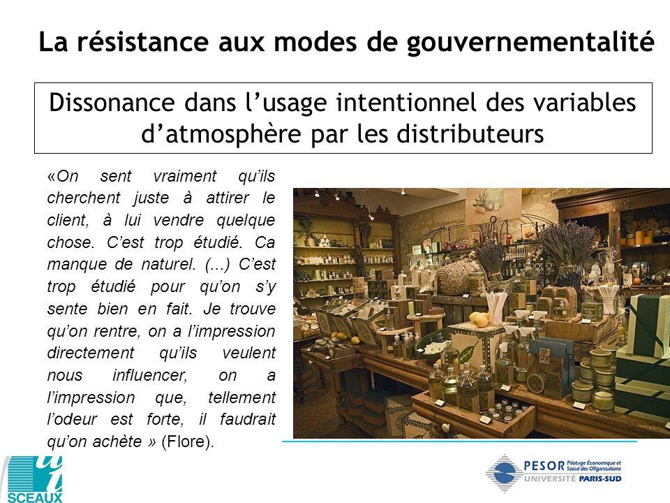 La résistance aux modes de gouvernementalité