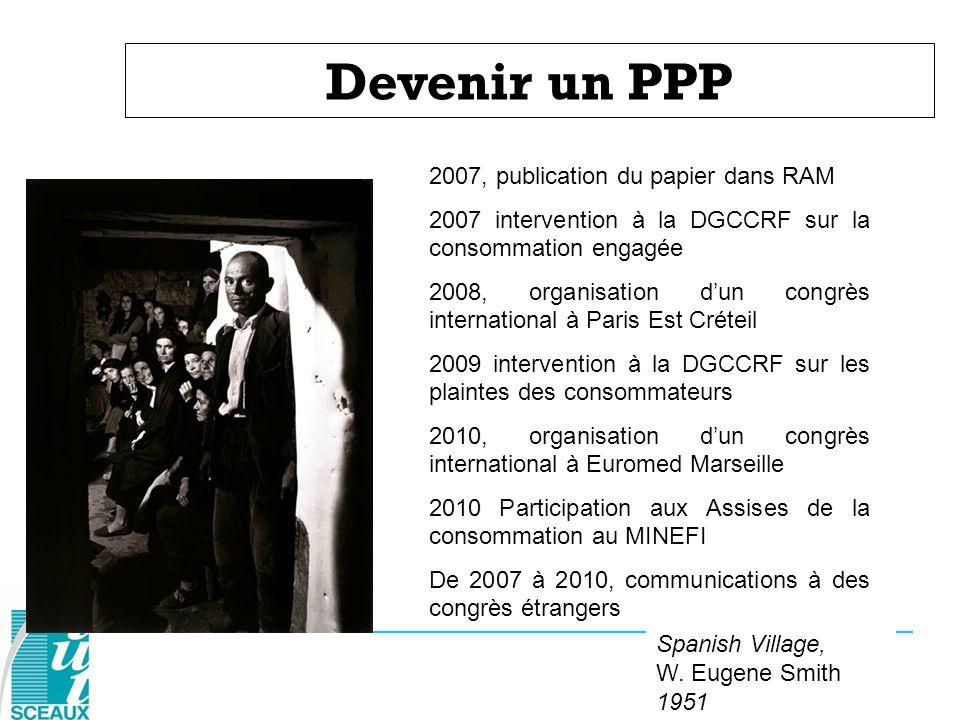 Devenir un PPP 2007, publication du papier dans RAM