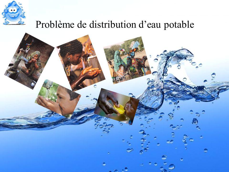 Problème de distribution d'eau potable