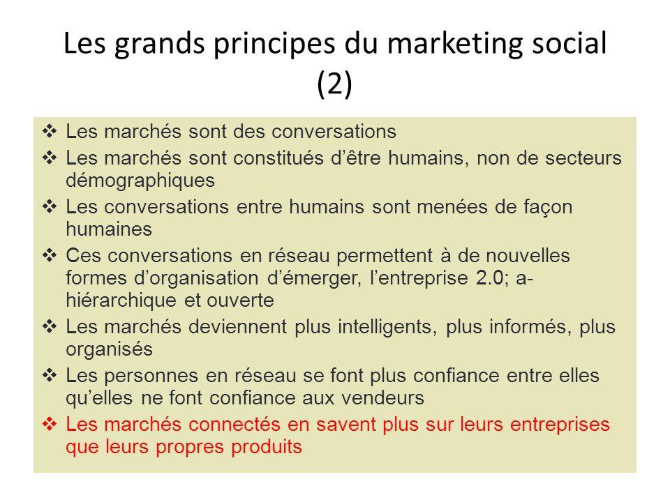 Les grands principes du marketing social (2)