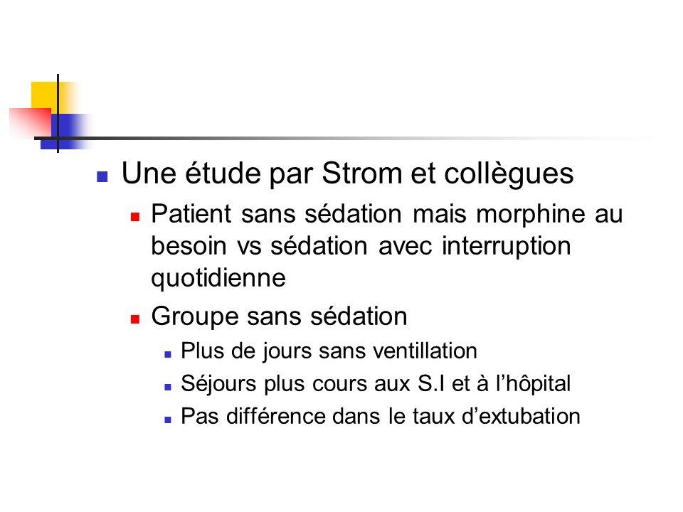 Une étude par Strom et collègues